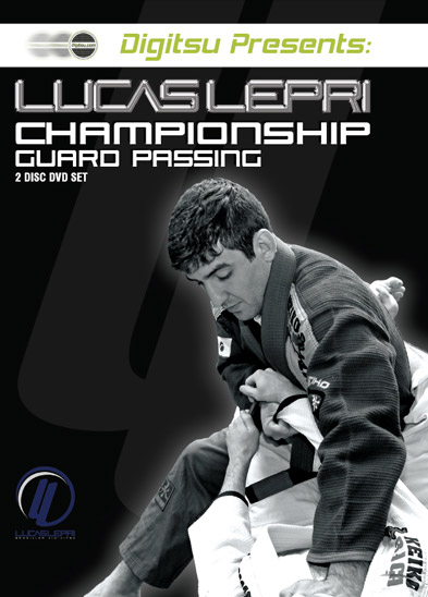 Lucas Lepri Championship Guard Passing DVD Set