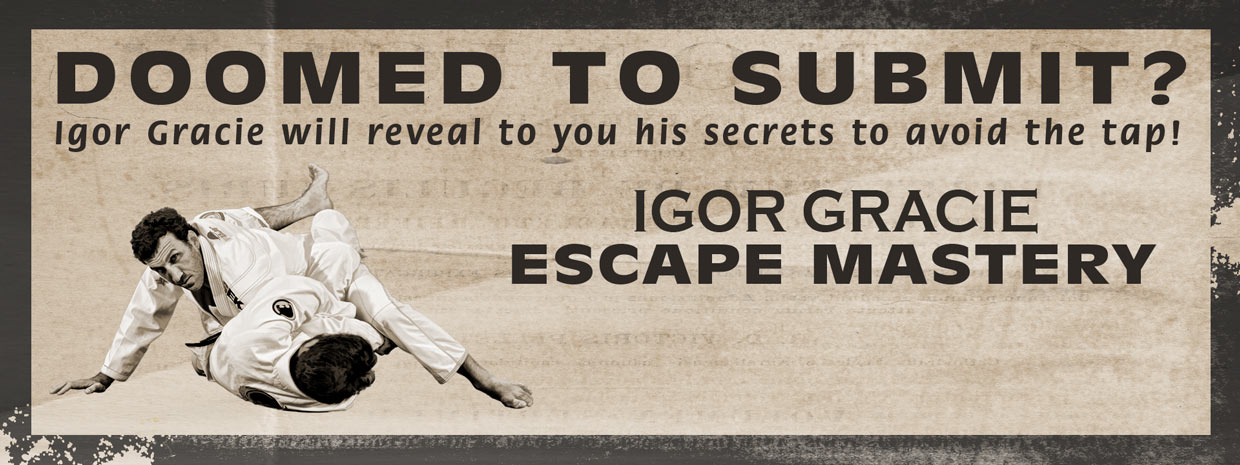 Igor Gracie - Escape Mastery DVD