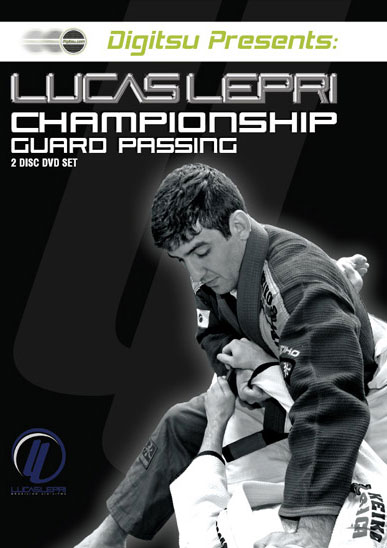 Lucas Lepri Championship Guard Passing 2 DVD Set