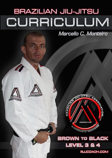 BJJ Curriculum Brown to Black Level 3 & 4 [On Demand]