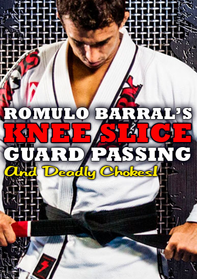 Romulo Barral's Knee Slice Guard Passing [On Demand]